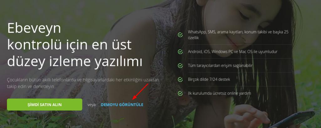 telefon takip programı indir türkçe demo