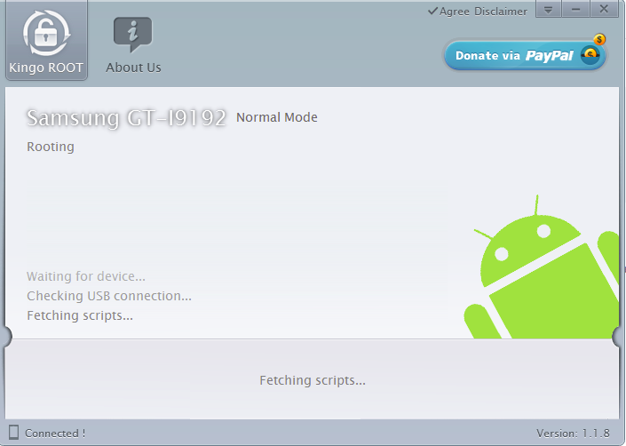 Android root kingo 5