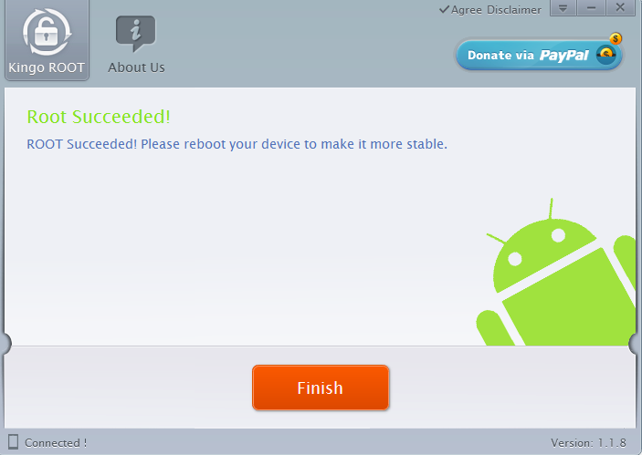 Android root kingo 6
